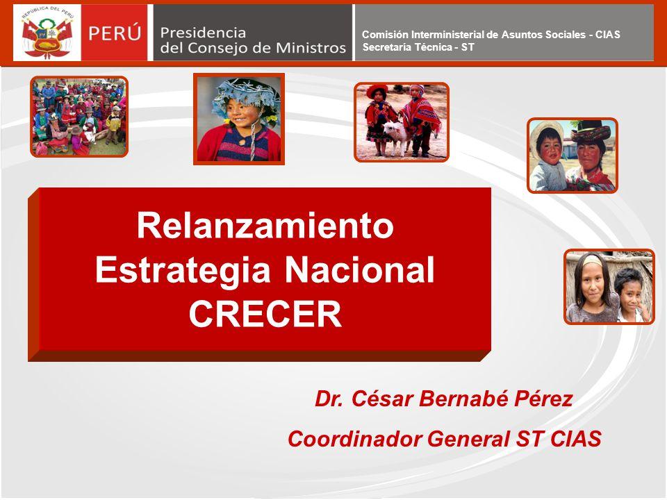 Comisión Interministerial de Asuntos Sociales - CIAS Secretaría Técnica - ST Comisión Interministerial de Asuntos Sociales - CIAS Secretaría Técnica -
