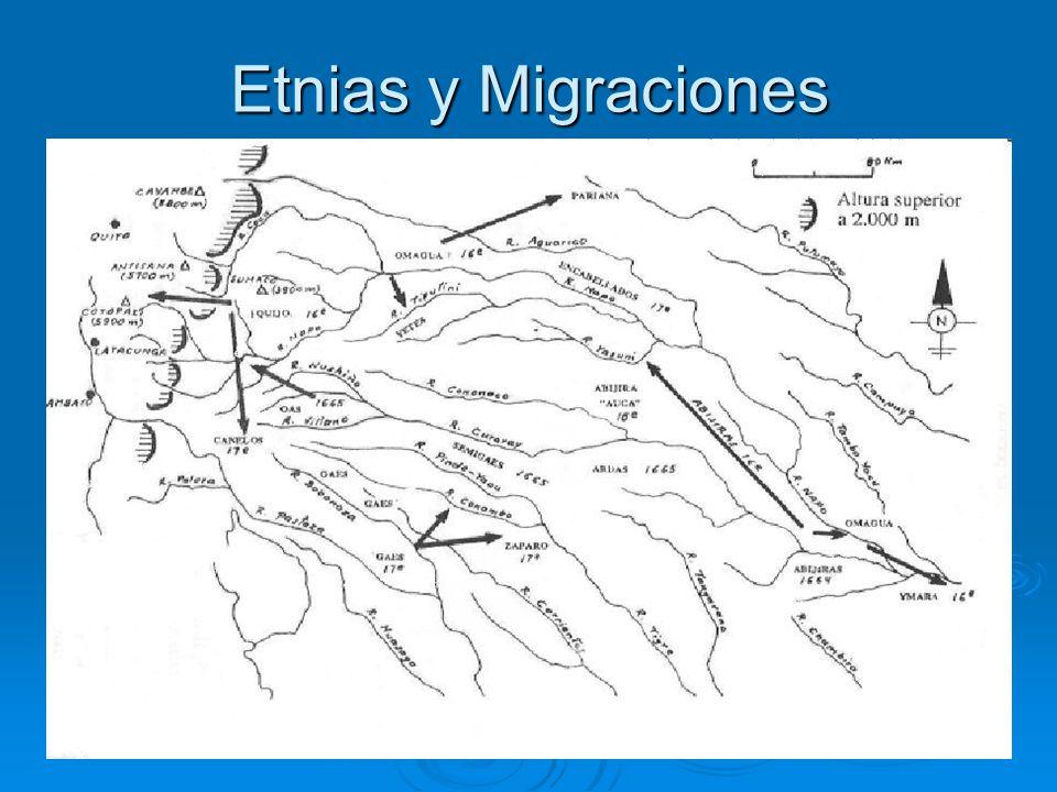 Etnias y Migraciones