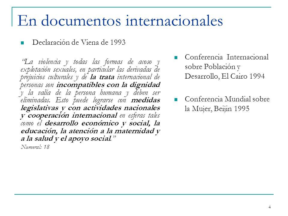 Tratados relativos a la Trata de Personas - Instrumentos Jurídicos internacionales previos que contienen normas y medidas para combatir la explotación de personas, especialmente de mujeres y NNA 3 1.