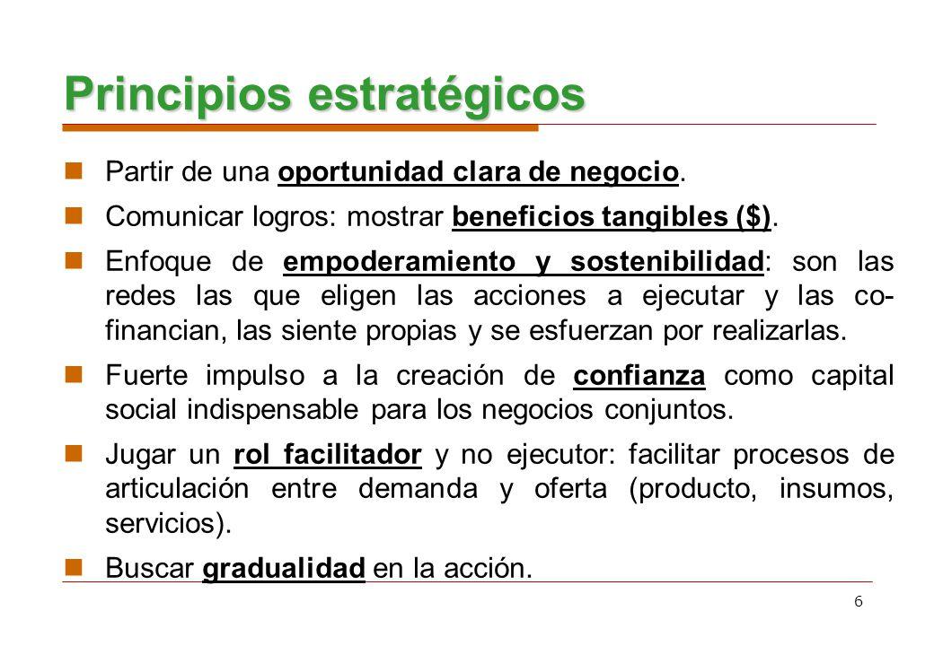 7 Jerarquía de objetivos Finalidad Contribuir al desarrollo equitativo y a la reducción sostenible de la pobreza en el Perú.