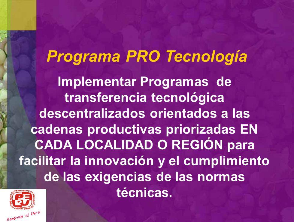 Puno-Juliaca: CITEtrucha UT CITEconfecciones Piura: CITEAgroindustrial La Libertad CITEagroindustrial Ica : CITEvid- Arequipa: CITEconfecciones El Tal