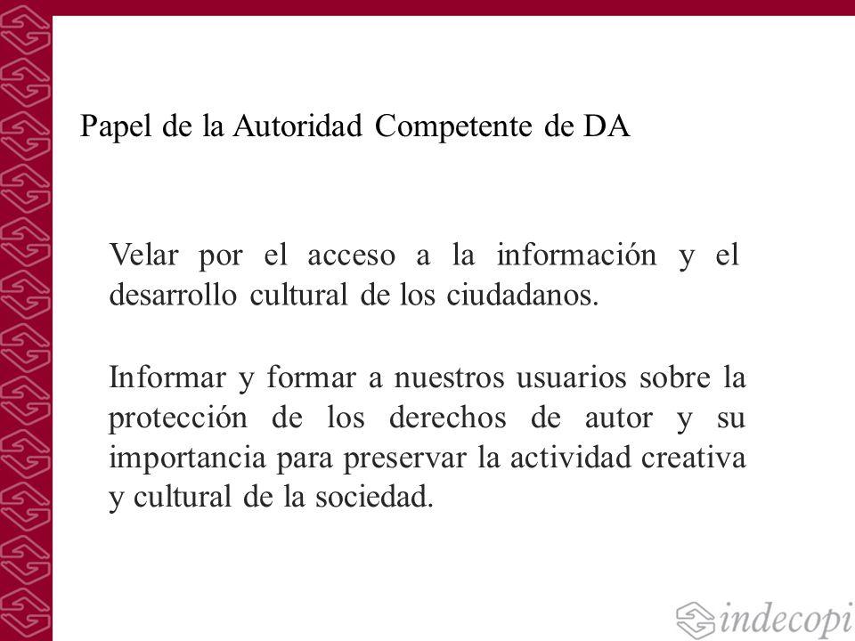 Informar y formar a nuestros usuarios sobre la protección de los derechos de autor y su importancia para preservar la actividad creativa y cultural de
