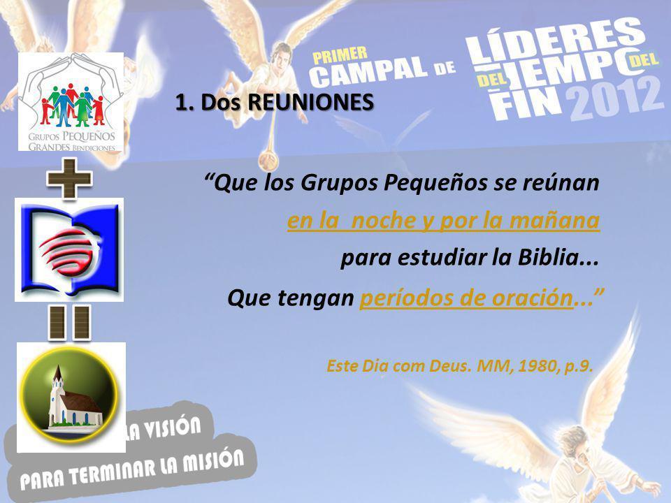 A.Reunión interna - Sábados B.