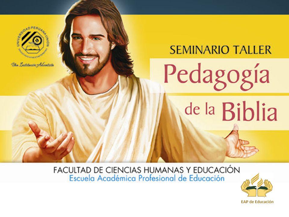 La Pedagogía de Jesús, El Gran Maestro Mg. Queleon Elmer Mamani Quispe Universidad Peruana Unión