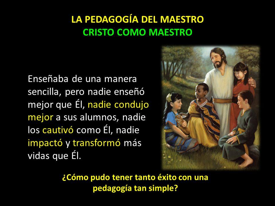 Jesús, en una de sus aulas Lucas 24:13-35 Enseñando en el camino a Emaús: 1.La pedagogía del camino (ver.