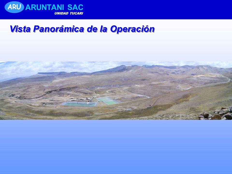 ARU ARUNTANI SAC UNIDAD TUCARI Vista Panorámica de la Operación