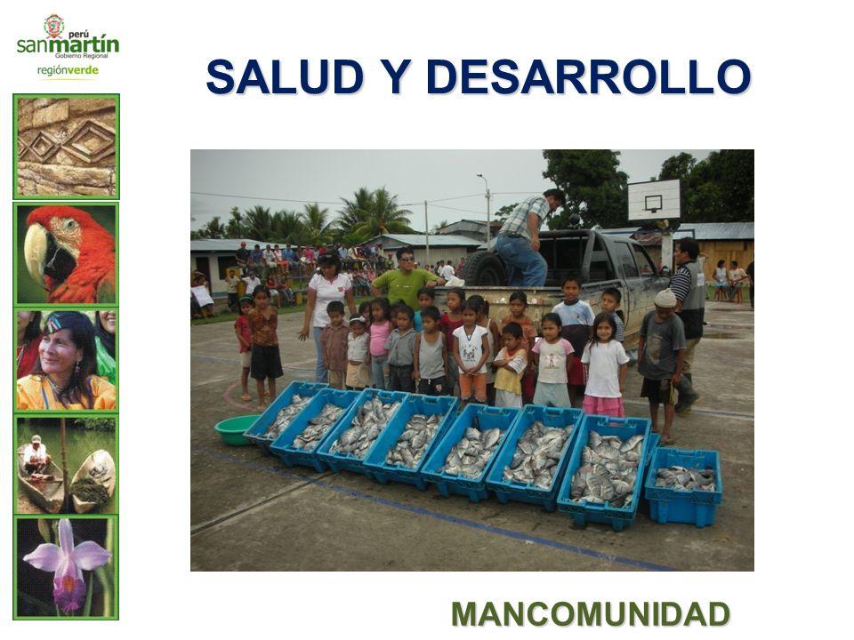 SALUD Y DESARROLLO MANCOMUNIDAD