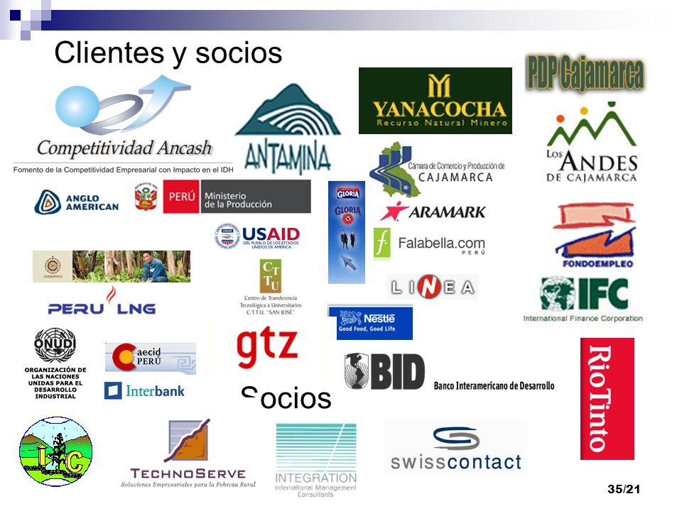 35/21 Clientes y socios Socios