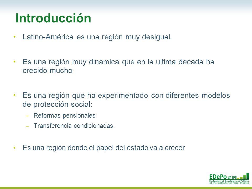 Latino-América es una región muy desigual.