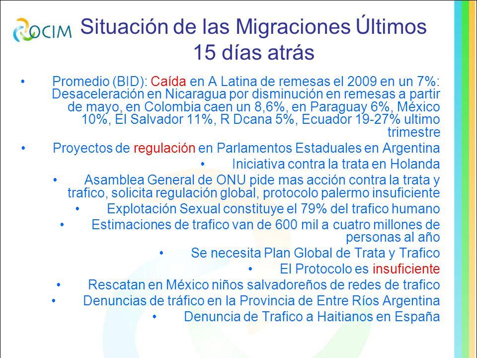 Constataciones sobre Dos Ms Preocupación por la Insuficiencia del SIDH, escasos casos al Sistema Crece acción de las INDH Los DD de los Migrantes no están bien tratados en la Legislación Internacional (IB) Administrativismo en ejercicio de DDHH de los Migrantes: Papel En MRD se altera el principio de la carga de la prueba estableciendo un principio contra-homine Opción por los textos inciertos (IB) y estados inciertos (zonas grises, centros de estadía y retención).