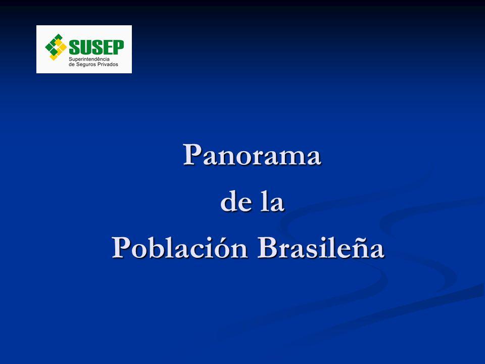 Panorama Panorama de la de la Población Brasileña