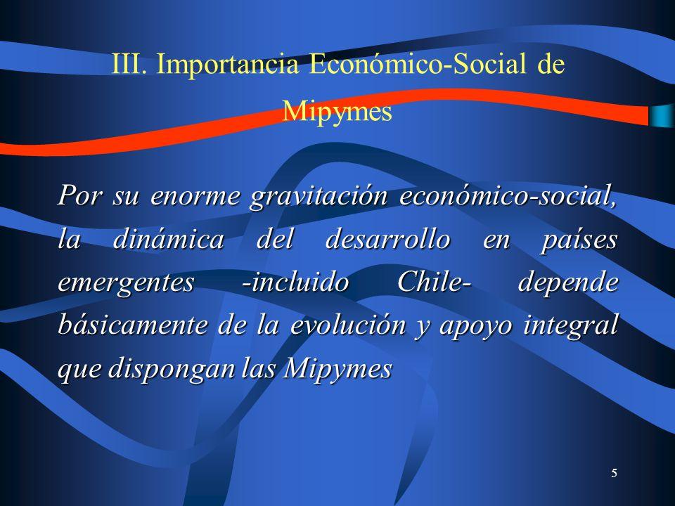 6 Gran y creciente importancia económica del sector MIPYME