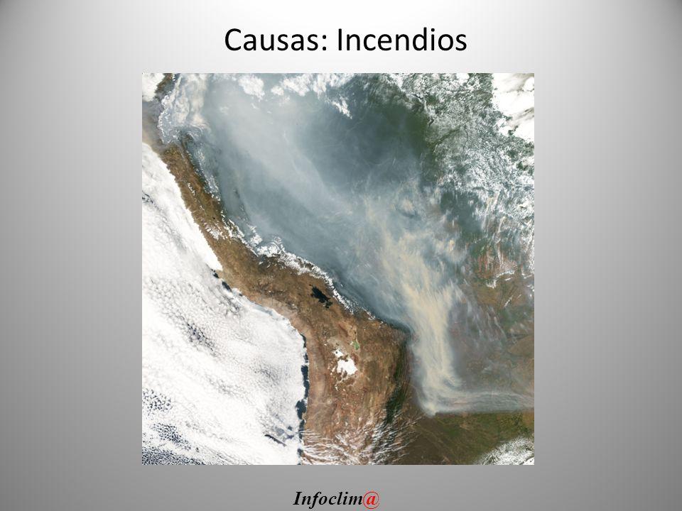 Causas: Incendios Infoclim@