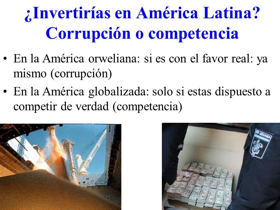 ¿Invertirías en América Latina.