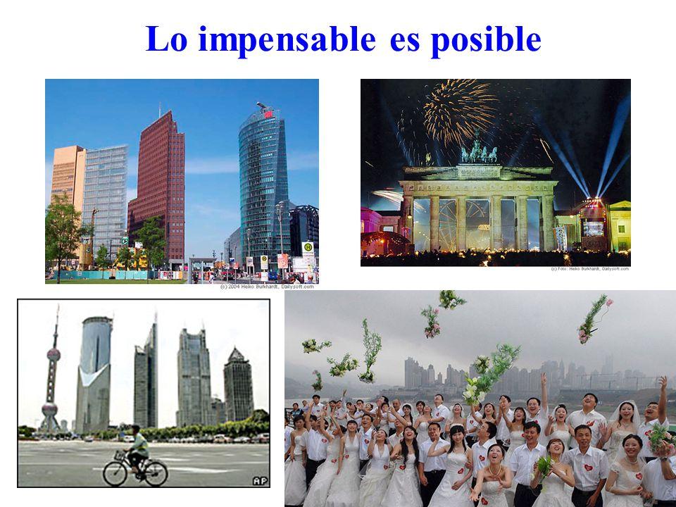 Lo impensable es posible