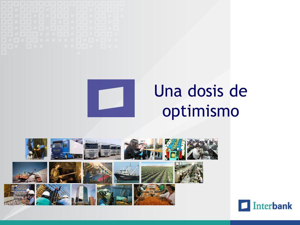Crecimiento Económico continuo 20012002 2003 2004 2005 2006 2007 2008E 2009E 2010E Fuente: EIU al 31 de Diciembre de 2007.