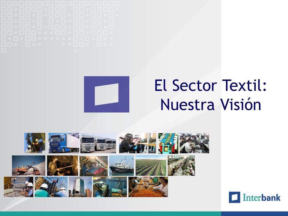 Evolución del Sector Textil El sector textil y prendas de vestir ha crecido en promedio los últimos años 17%.