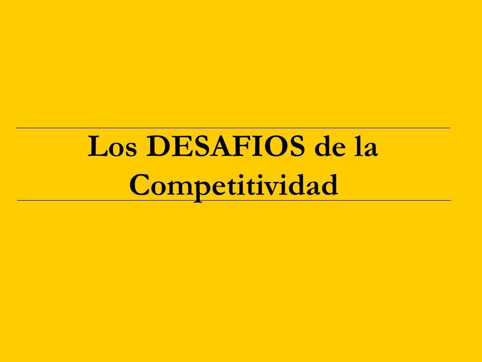 Los DESAFIOS de la Competitividad