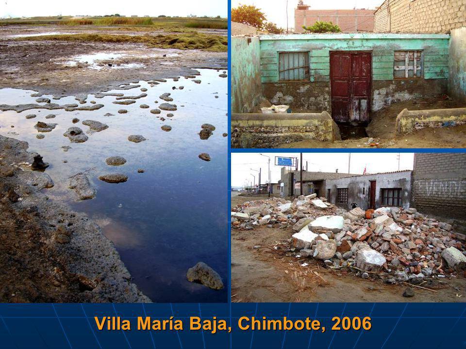 Villa María Baja, Chimbote, 2006