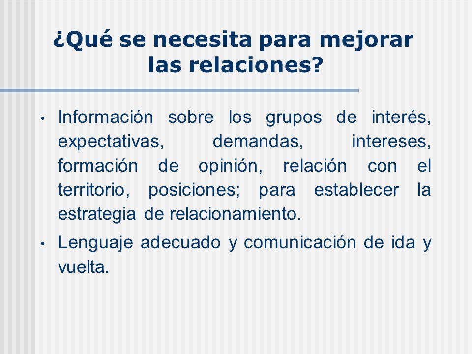 El primer contacto minero es social: Participación ciudadana oportuna y fortalecimiento del componente social de los estudios ambientales.