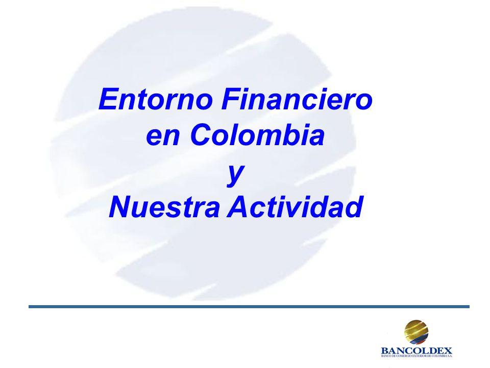 Entorno Financiero en Colombia y Nuestra Actividad