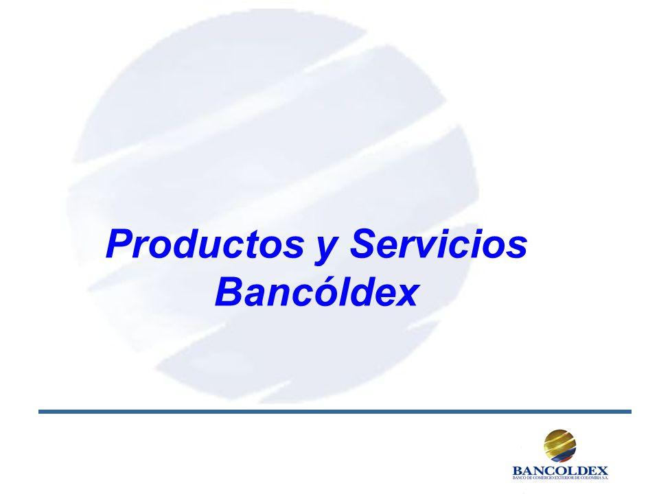 Productos y Servicios Bancóldex