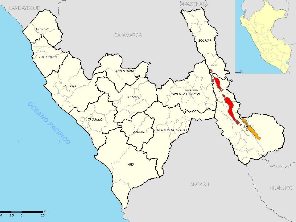 4 Mina Consuelo Mina Atahualpa Río Tingo Mina Papagayo Mina El Tingo Río Hualanga 2 Km.