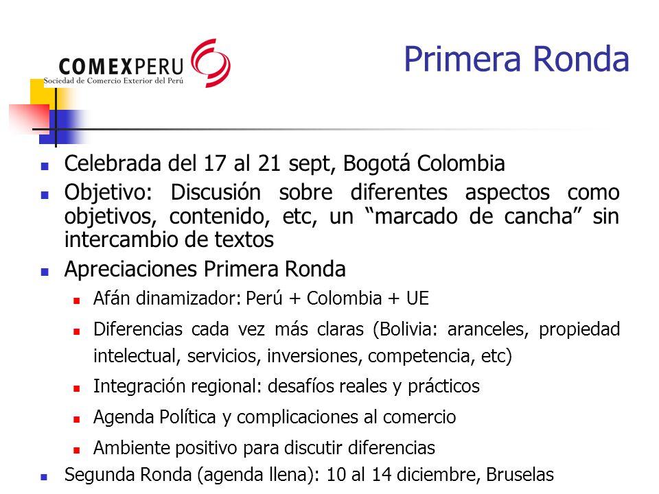 Celebrada del 17 al 21 sept, Bogotá Colombia Objetivo: Discusión sobre diferentes aspectos como objetivos, contenido, etc, un marcado de cancha sin in