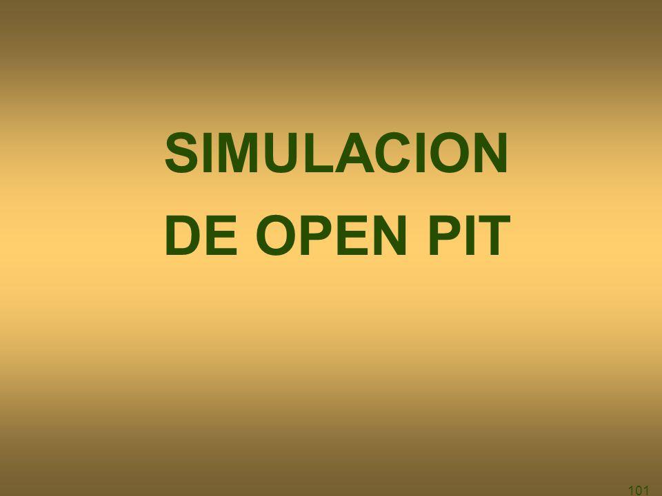 101 SIMULACION DE OPEN PIT