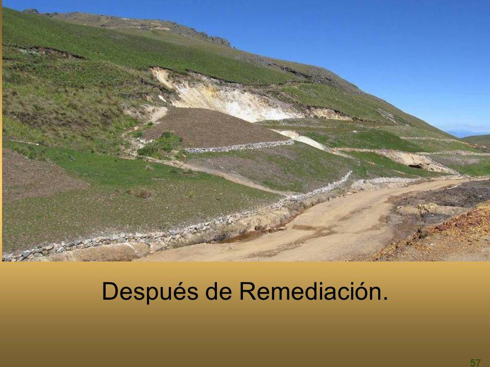 57 Después de Remediación.