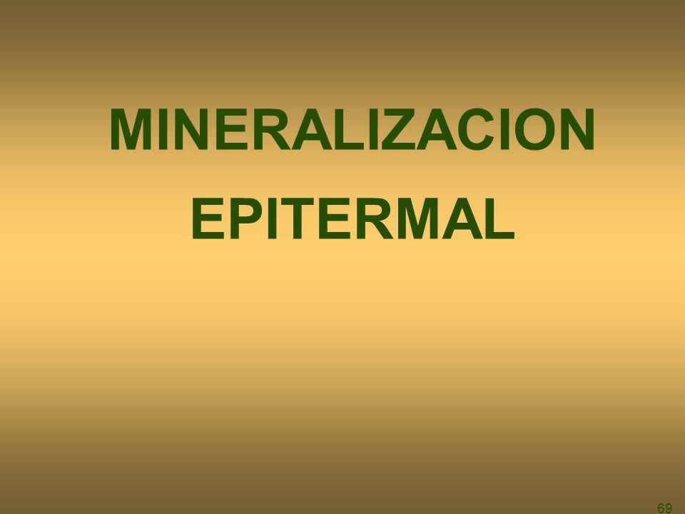 69 MINERALIZACION EPITERMAL