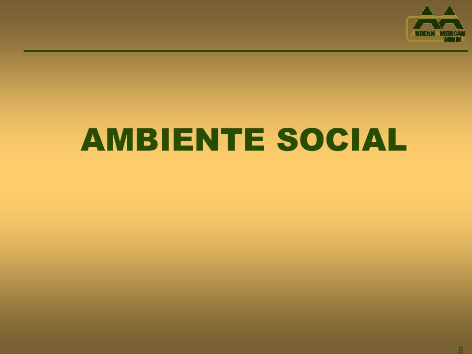 8 AMBIENTE SOCIAL