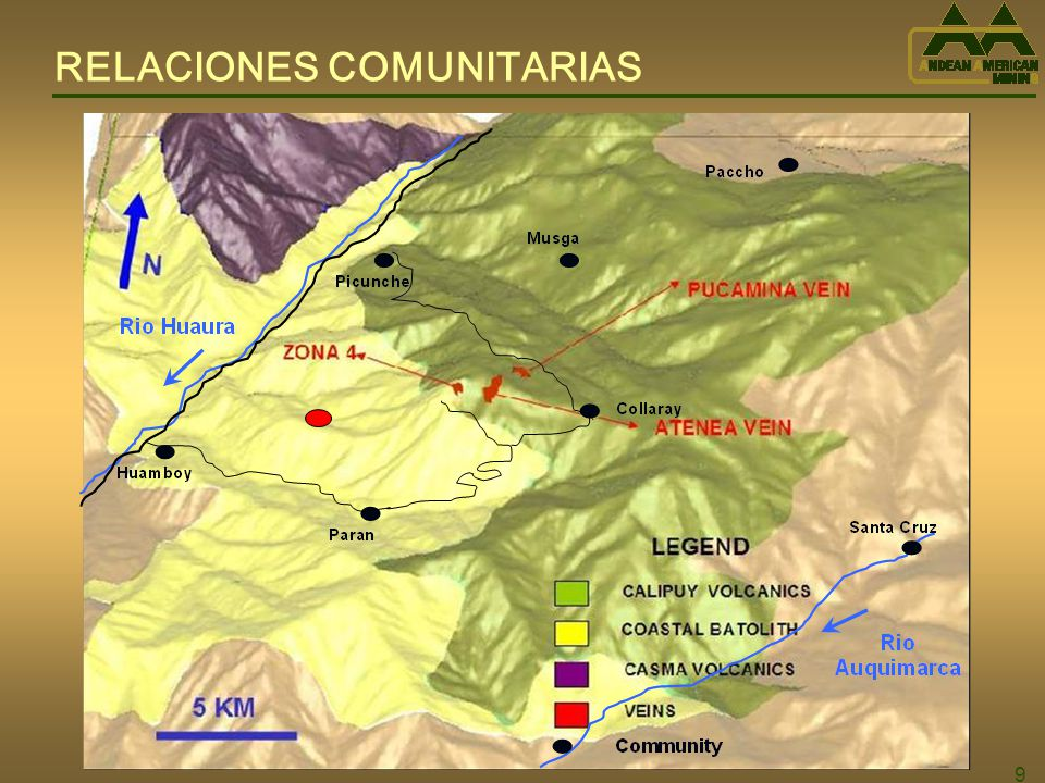 50 HISTORIA 1953 – 1974: Familia Santolalla realiza una explotación de sulfuros de cobre a pequeña escala, con una producción total de 132,169 TM con 3.24% cobre.