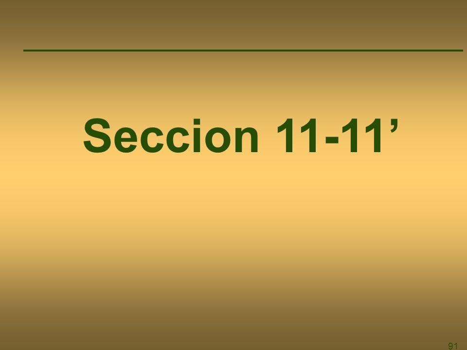 91 Seccion 11-11
