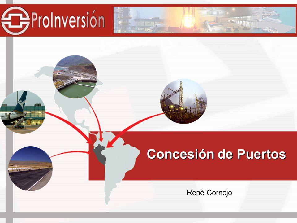 Objetivos de la Concesión Incrementar la competitividad y eficiencia de los terminales portuarios del país.