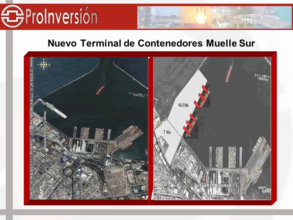 Nuevo Terminal de Contenedores Muelle Sur