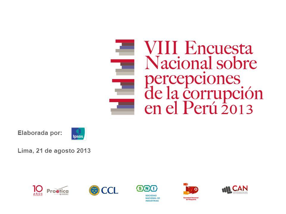 Lima, 21 de agosto 2013 Elaborada por: