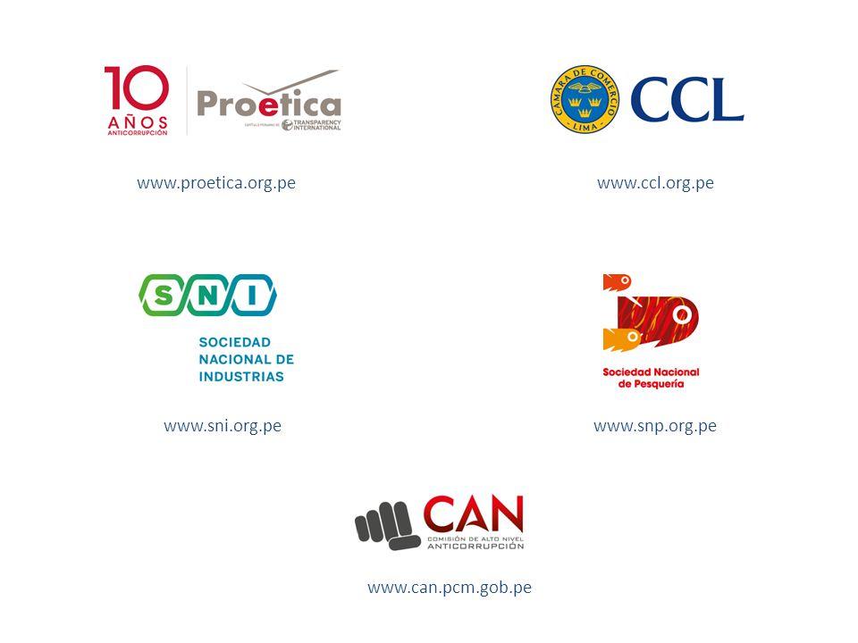 www.proetica.org.pe www.snp.org.pewww.sni.org.pe www.ccl.org.pe www.can.pcm.gob.pe