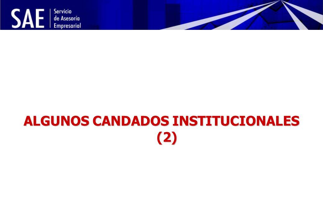 INSTITUCIONALIDAD DE LA POLÍTICA ECONÓMICA Y RIESGO POLÍTICO MAYO, 2006 14 ALGUNOS CANDADOS INSTITUCIONALES (2)