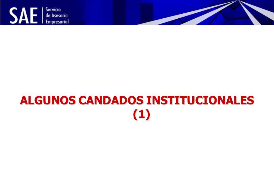 INSTITUCIONALIDAD DE LA POLÍTICA ECONÓMICA Y RIESGO POLÍTICO MAYO, 2006 6 ALGUNOS CANDADOS INSTITUCIONALES (1)