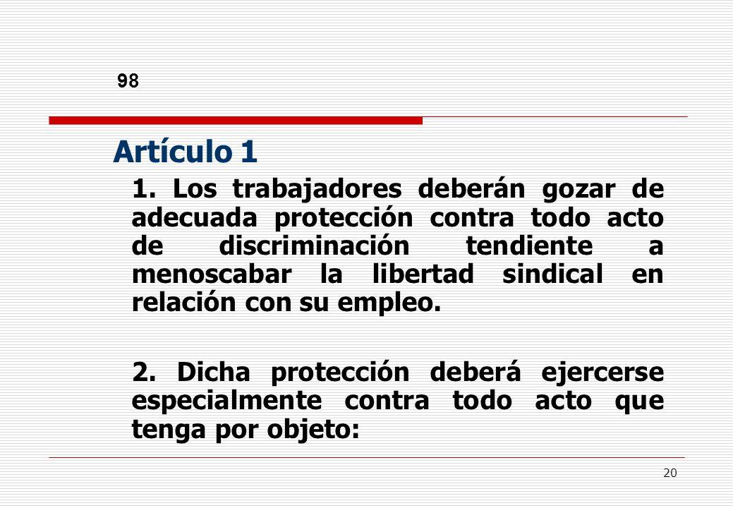 20 98 Artículo 1 1.