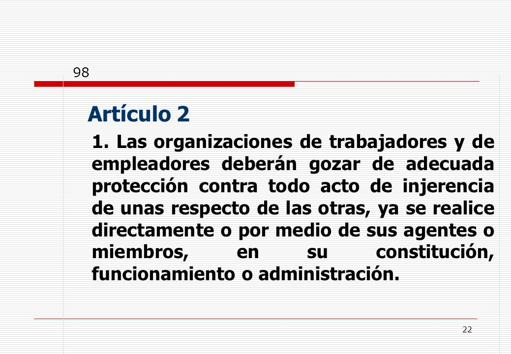 22 Artículo 2 1.