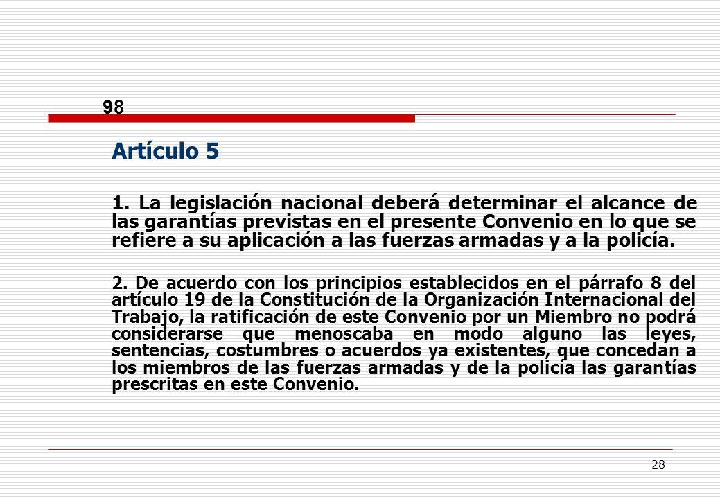 28 98 Artículo 5 1.