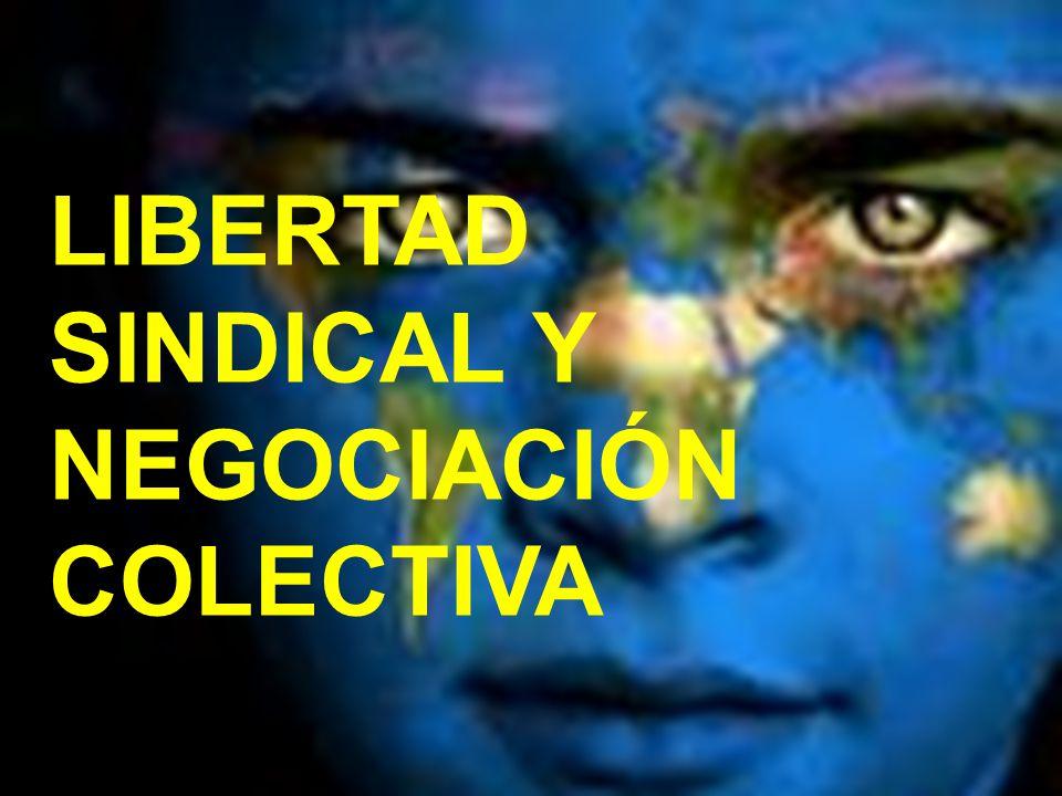 LIBERTAD SINDICAL Y NEGOCIACIÓN COLECTIVA