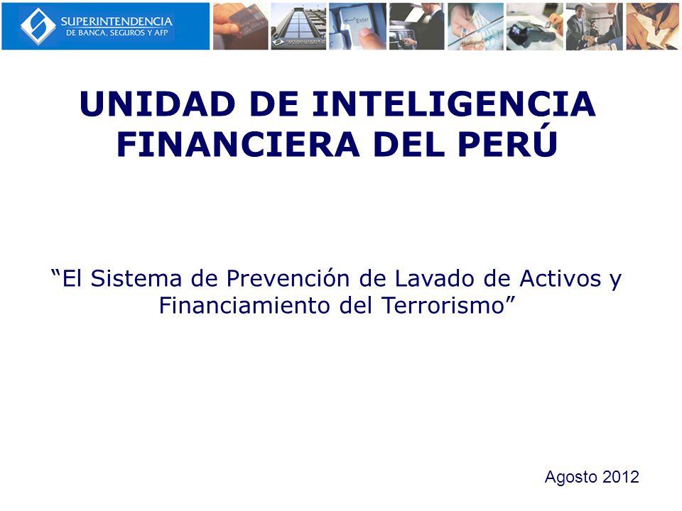 Obligación Los SO deben informar a la UIF- Perú respecto a su Manual de Prevención de LAFT Los mecanismos que utilizan para la detección de operaciones inusuales y sospechosas Procedimiento Completar el Formato Remisión de Información Decreto Legislativo Nº 1106.