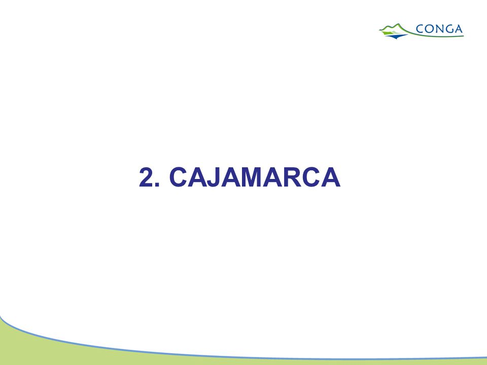 2. CAJAMARCA