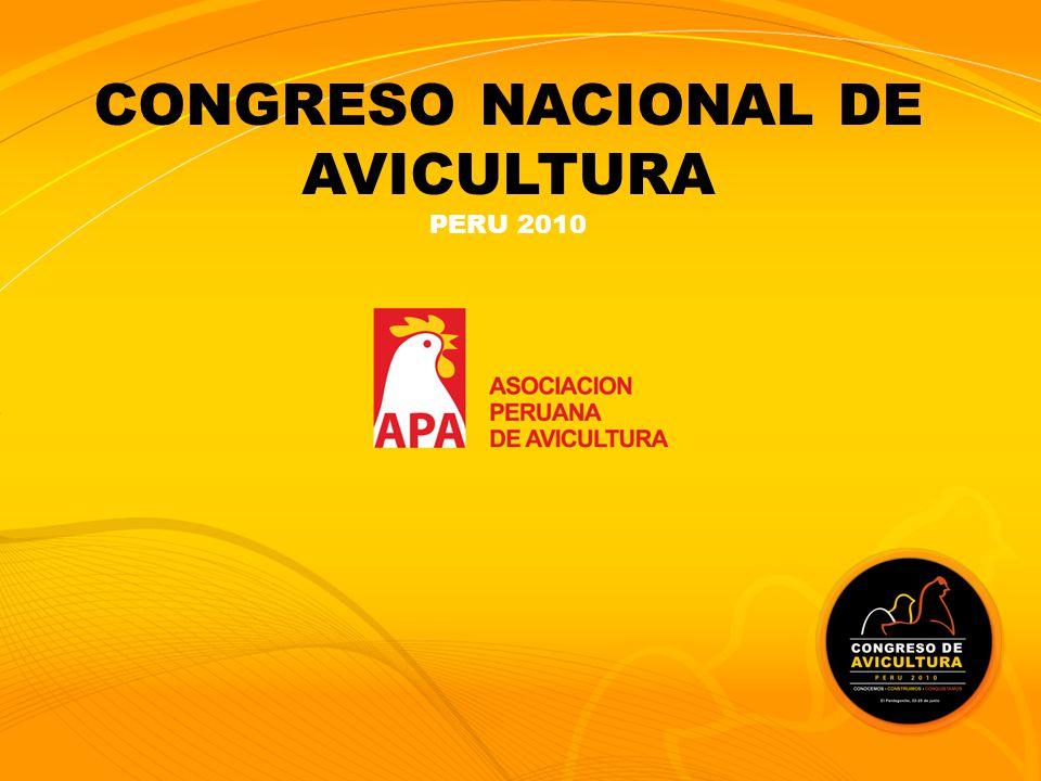 CONGRESO NACIONAL DE AVICULTURA PERU 2010