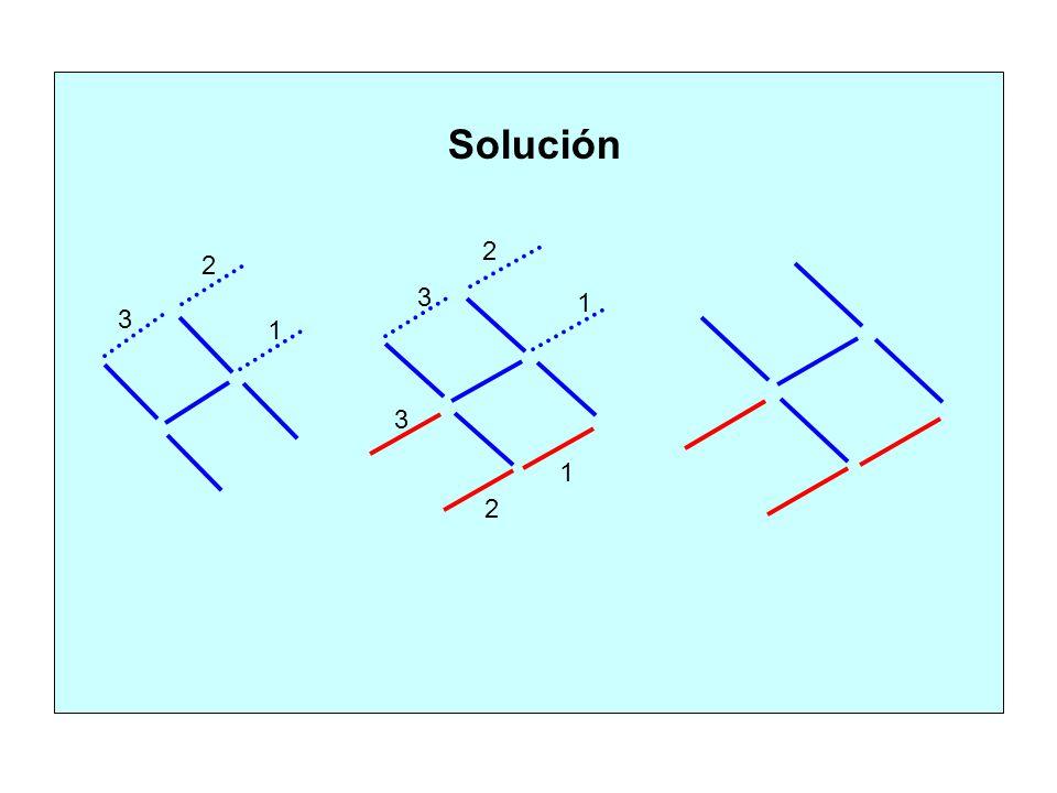 1 1 2 2 3 3 1 2 3 Solución