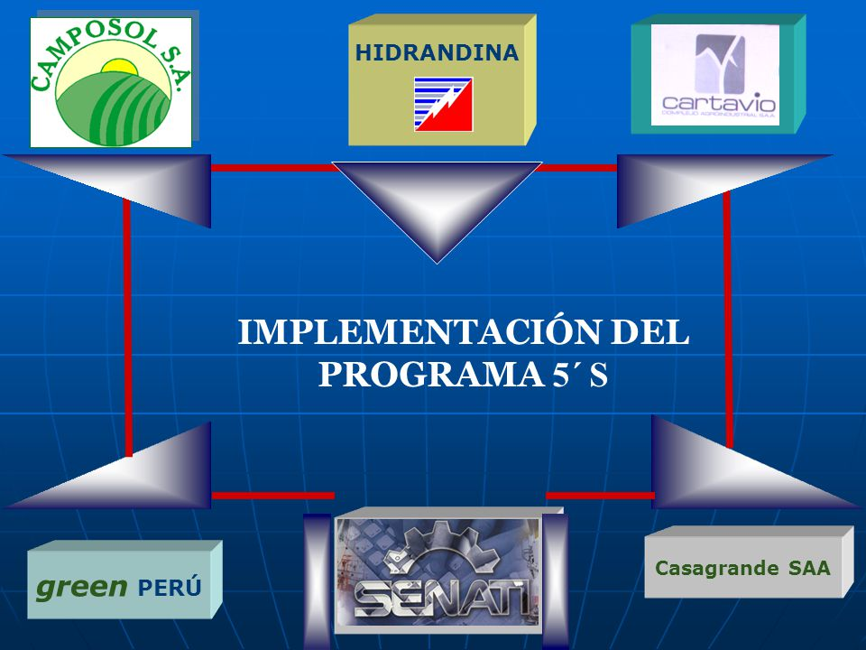IMPLEMENTACIÓN DEL PROGRAMA 5´ S HIDRANDINA green PERÚ Casagrande SAA