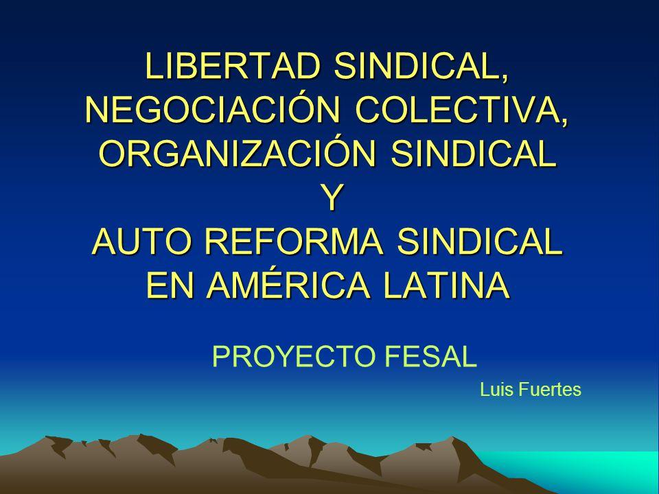 Características Modelos organizativos sindicales I 1.- Modelo basado básicamente en la empresa: Afiliación sindical indirecta restrictiva Negociación colectiva limitada al ámbito de la empresa.